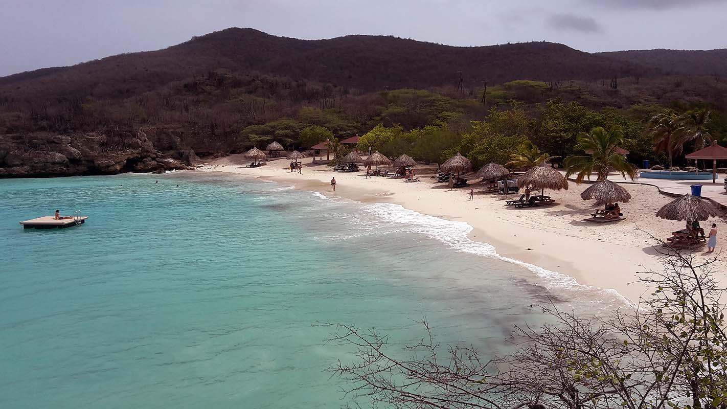 Nette Strände auf Curacao