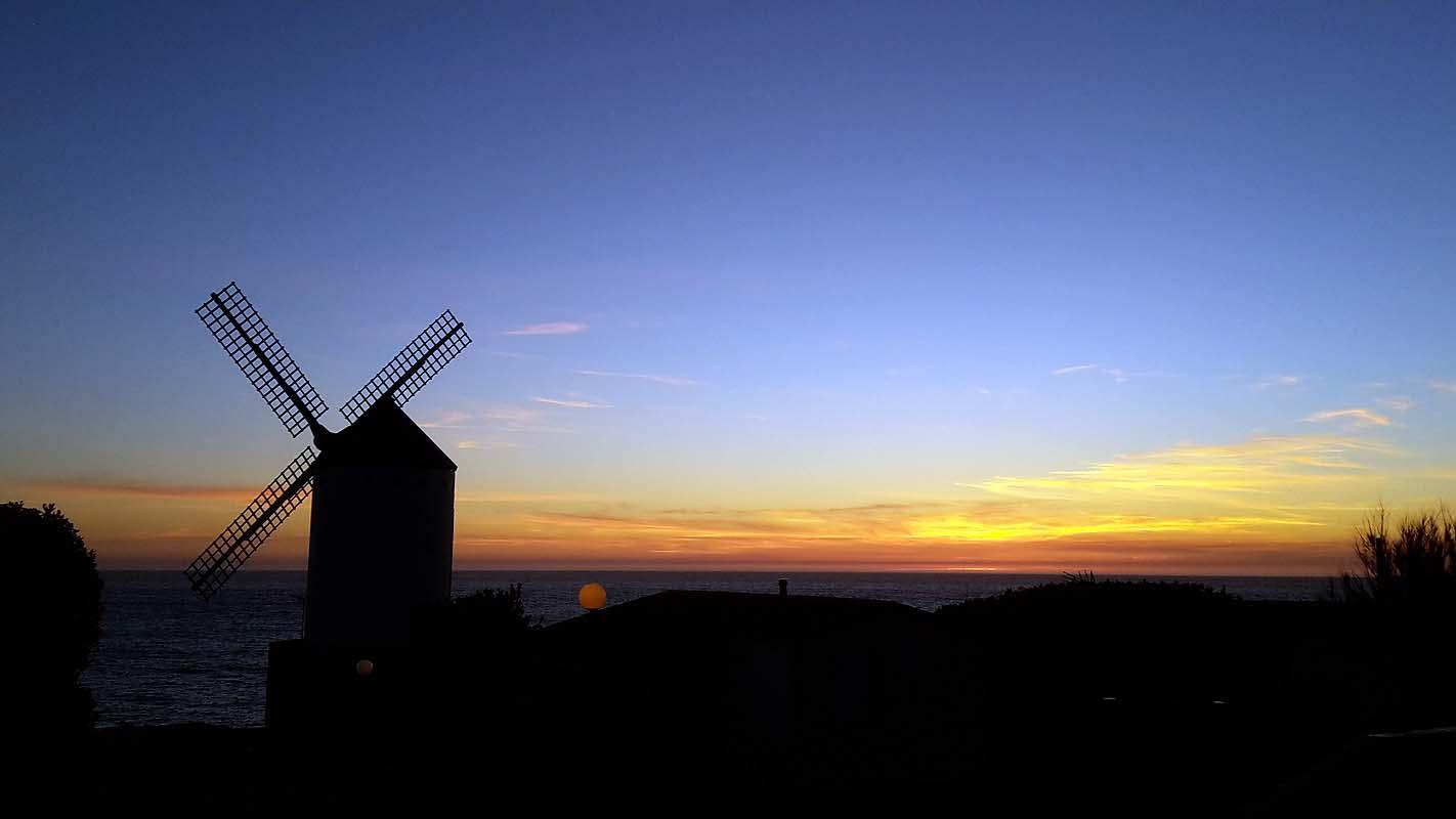 Sunset in Galicien