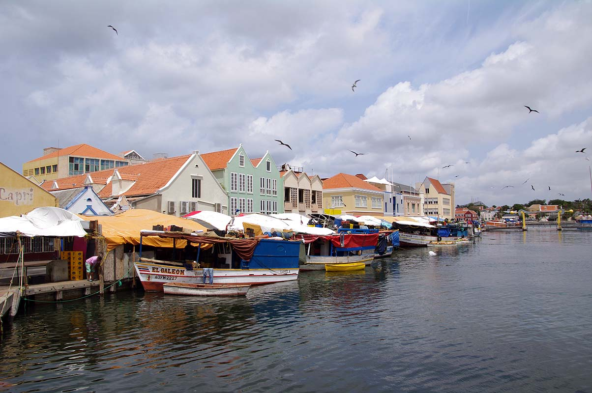 Tolle bunte Altstadt von Willemstad