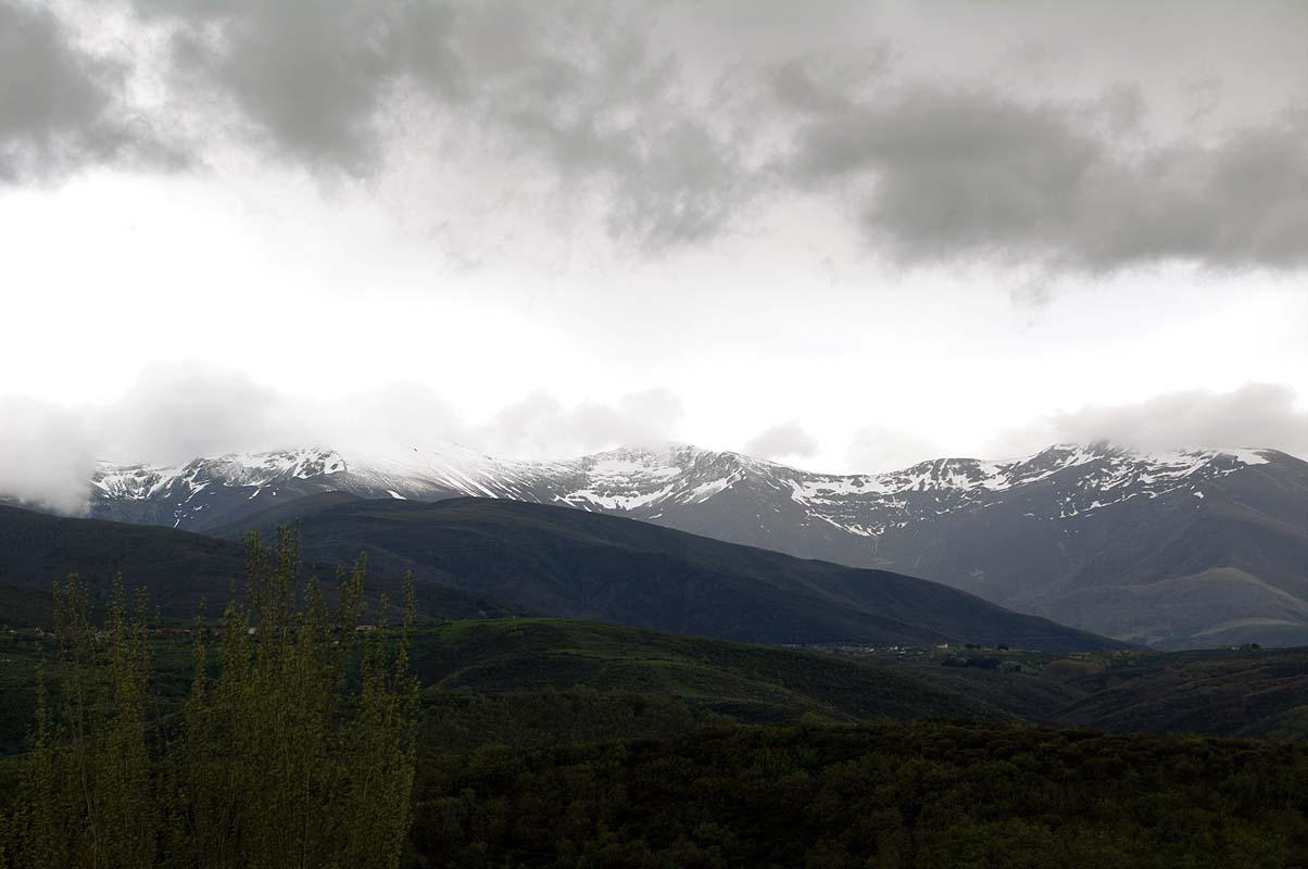 Tiefdruckwetter Mitte Mai in Spanien