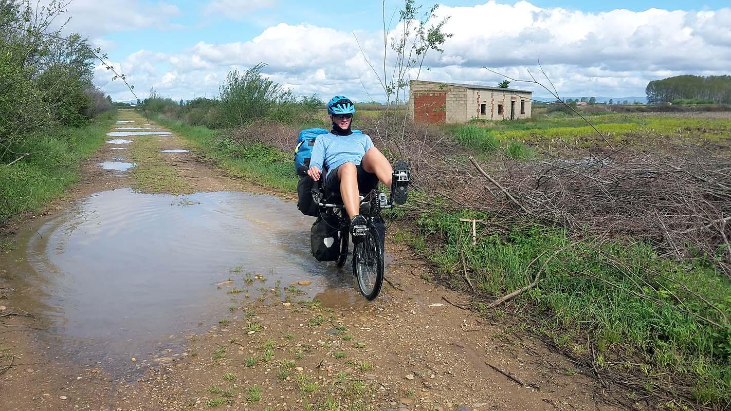 Nicht nur wir hätten genug vom Regen in Spanien
