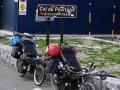 Pyrenäen-Pass zwischen Spanien und Frankreich