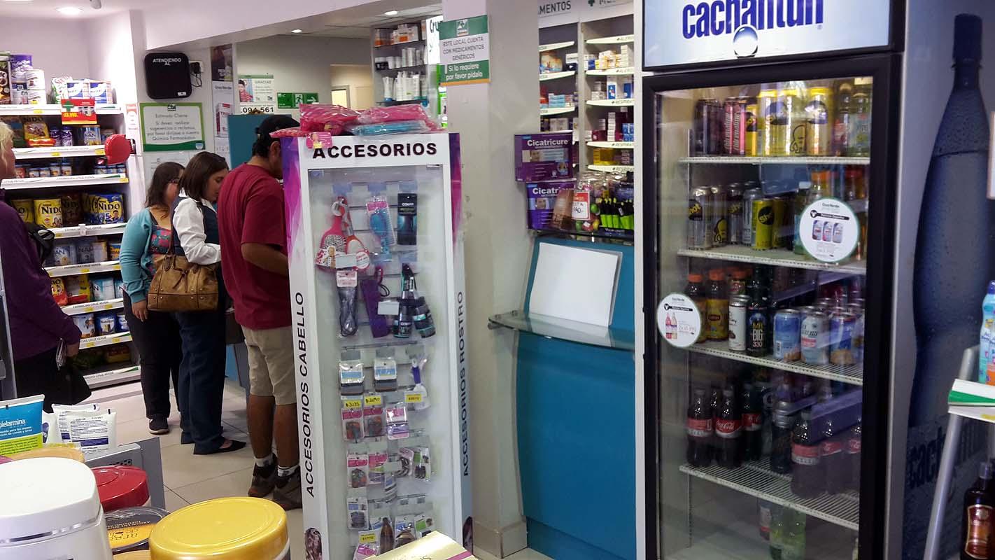 Apotheke verkauft Cola, alles klar oder?