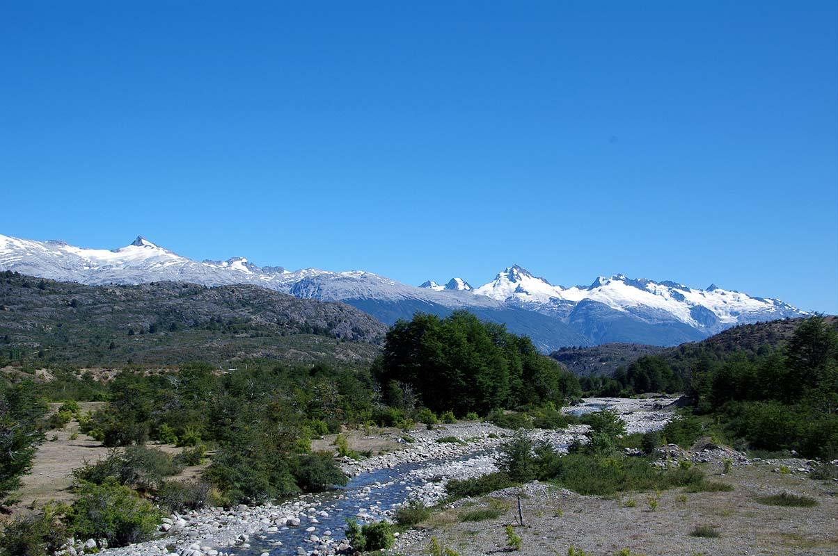 Alpenähnliches Panorama