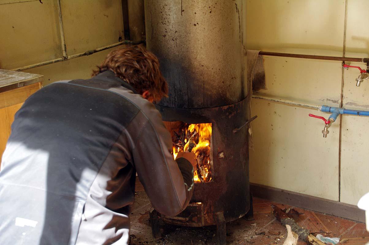 Campingplatz mit Warmwasser zum selbermachen