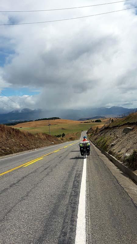 Auf dem Weg nach Coyhaique