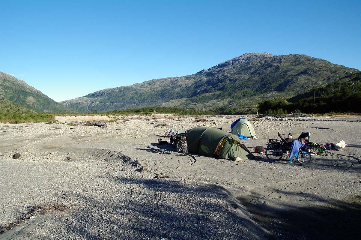 Perfekte wilde Campspots noch und nöcher