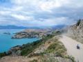 Wasser ohne Ende am größten See Chiles (Lago Generel Carretera)
