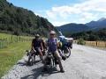 Die ersten Liegerad-Tourenradler nach 14 Monaten