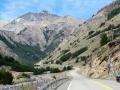 Landschaftliches Kontrastprogramm nach Passüberquerung