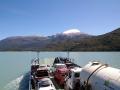 Auf der ersten Fähre durch Fjorde (Meerwasser)
