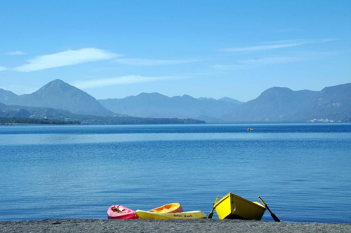 Chilenischer See wie im Alpenvorland
