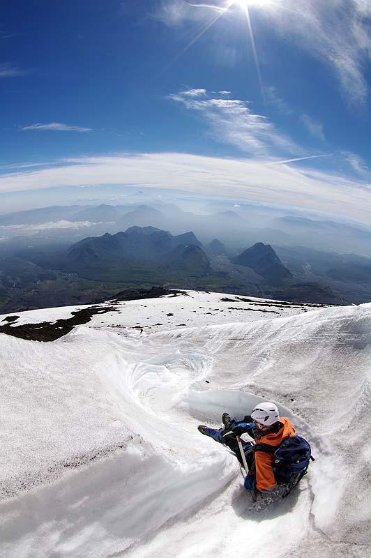 Rutschbahn Vulkan Villarrica