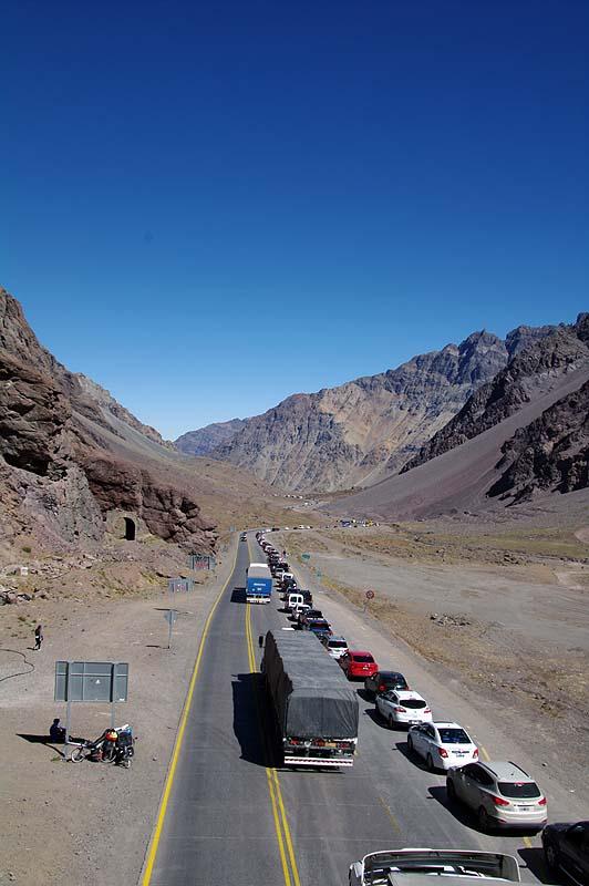 Stau auf über 3100 m