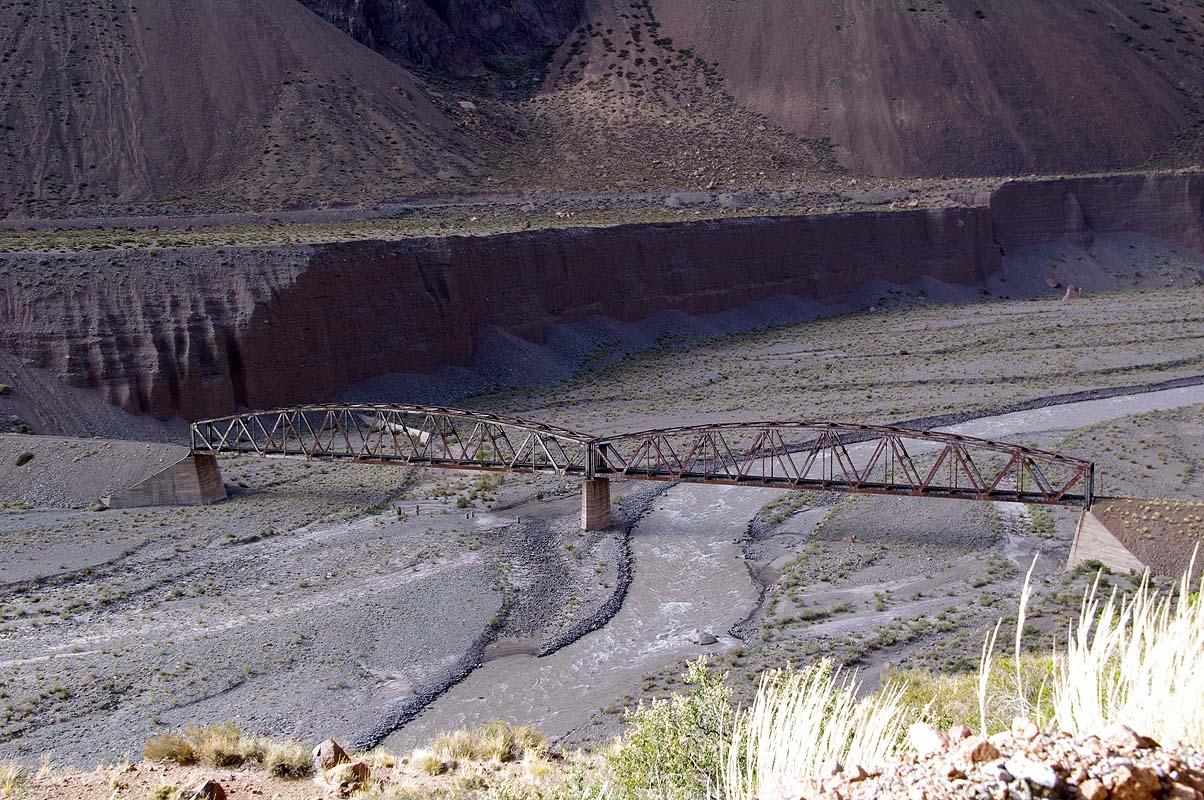 Überreste der Transandenbahn