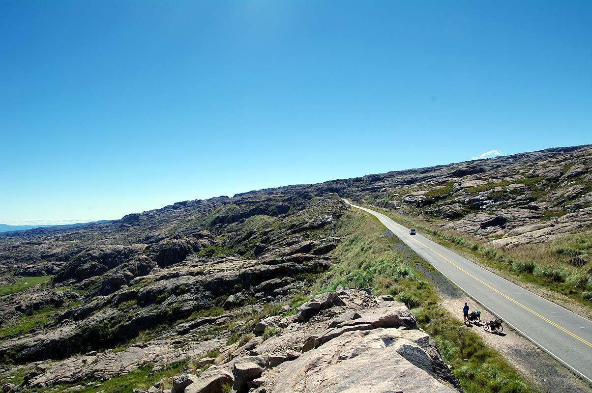 Hoch auf die Sierra de Cordoba