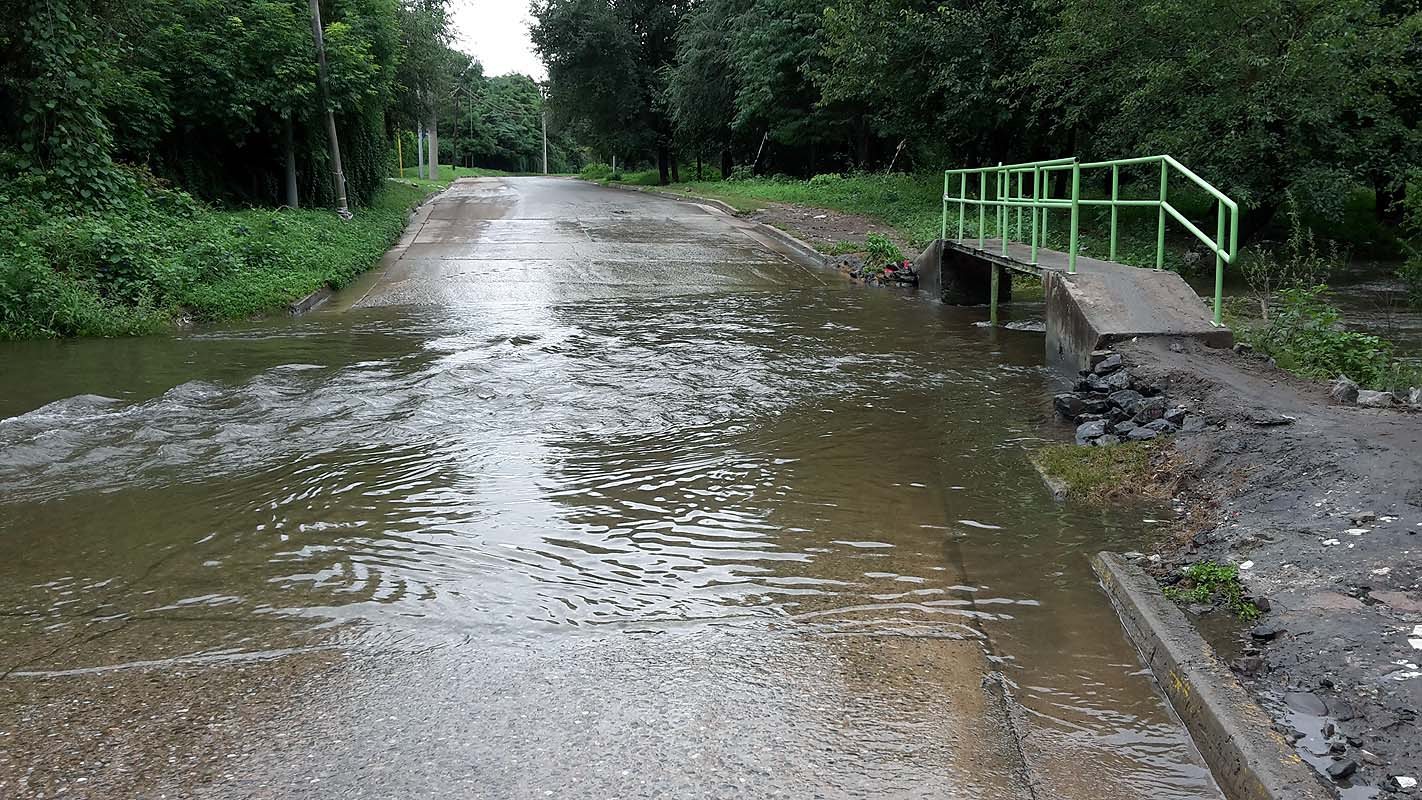 Mehr als genug Wasser in Cordoba