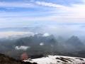 Herbstliches Aussicht von Vulkan Villarrica