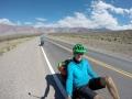 Sehr trockene argentinische Andenseite