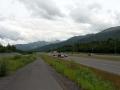 Fahrradweg aus Anchorage raus