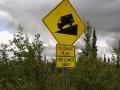 Verdiente Abfahrt nach dem sehr hügeligen Top of the Highway