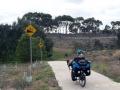 Radweg aus Melbourne raus