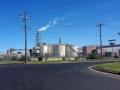 Viele und große Industriekomplexe um Melbourne