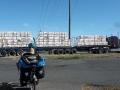 Auch die Trucks werden langsam größer