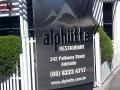 Luxus-Restaurant weit über unserem Budget in Adelaide