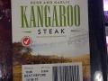 Bei uns isst man Reh oder Wildsau, hier eben Kangaroo - probiert haben wir es noch nicht