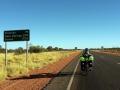 """""""Minimale"""" Distanzen auf dem Stuart Highway"""