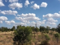 Perfekte Thermikwolken