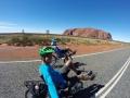 Auf dem Weg zur Uluru-Umrundung
