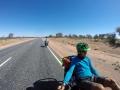 Auf dem Stuart Highway für gute 2000 km