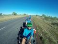 Roadtrain mit 8 Achsen mit Nicole und Uwe