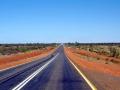 Auf dem Stuart Highway im Red Centre