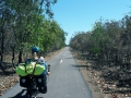 Fahrradweg vor Darwin