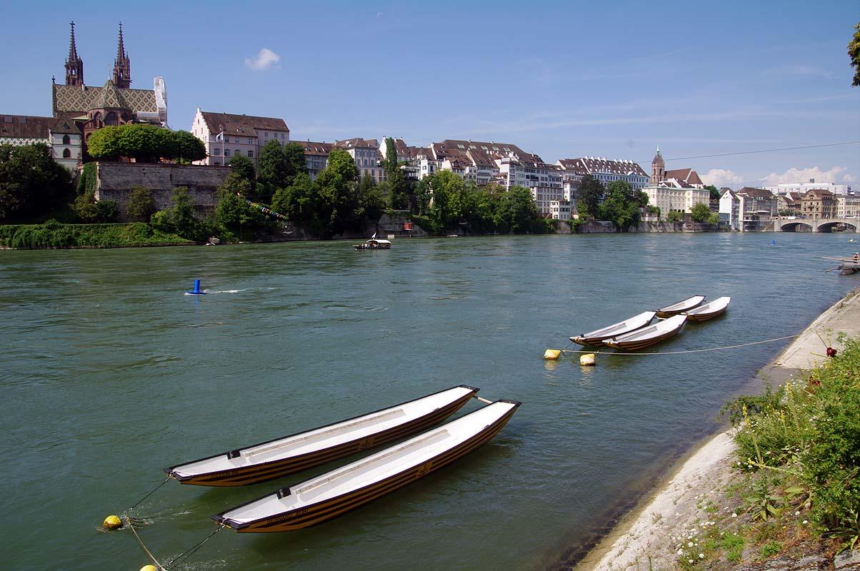 Basel mit Rhein