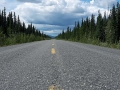 Typische Aussicht auf dem Klondike Highway
