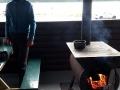 Auf Yukons tollen staatlichen Campgrounds mit Ofen und trockenem Holz