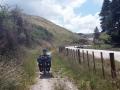 Einer von ganz wenigen Fahrradwegen in Neuseeland bisher, ging immerhin 20 km so
