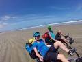 Unglaubliche Freiheit am 90 Mile Beach