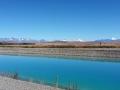 Kanal auf dem Weg zum Lake Pukaki