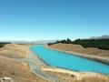 Kanal vom Lake Pukaki Richtung Meer