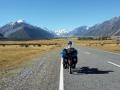 Endspurt auf dem Weg zum Mount Cook