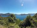 Marlborough Sounds auf dem Weg von Picton nach Nelson