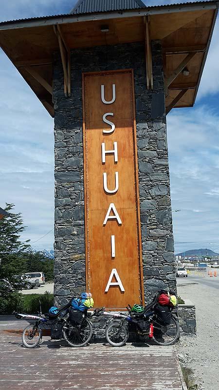 Und tschüss ... Ushuaia