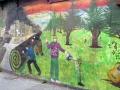 Wandmalerei in Punta Arenas