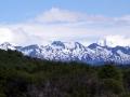 "Blick vom ""Ende der Welt"" in die Berge"