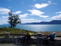 Traumhaftes Wetter beim Lago Fagnano
